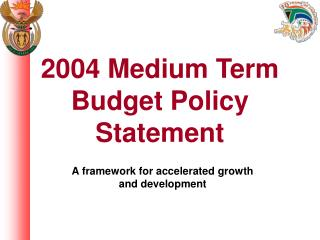 2004 Medium Term Budget Policy Statement