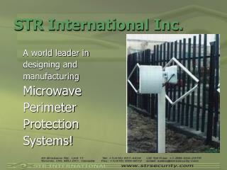 STR International Inc.