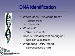 DNA Identification