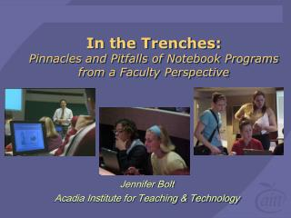 In the Trenches: Pinnacles and Pitfalls of Notebook Programs from a Faculty Perspective