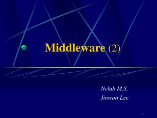 Middleware (2)
