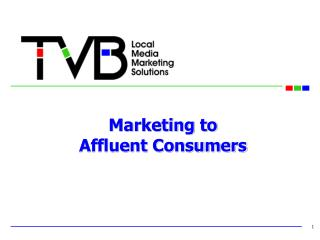 Marketing to  Affluent Consumers