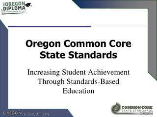 Oregon Common Core State Standards