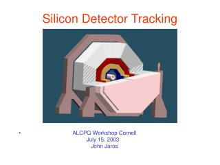 Silicon Detector Tracking