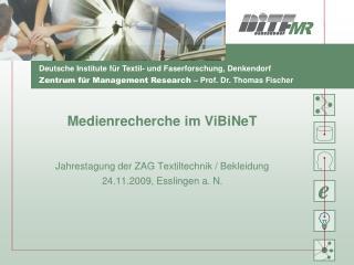 Medienrecherche im ViBiNeT