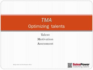 TMA Optimizing   talents