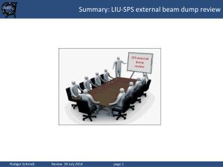 Summary: LIU-SPS  external beam dump review