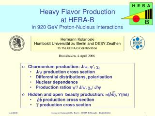 Heavy Flavor Production  at HERA-B       in 920 GeV Proton-Nucleus Interactions