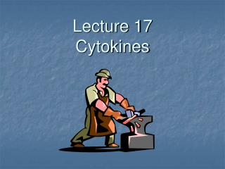 Lecture 17 Cytokines