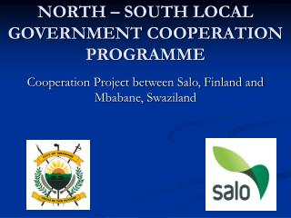 NORTH – SOUTH LOCAL GOVERNMENT COOPERATION PROGRAMME