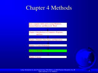 Chapter 4 Methods