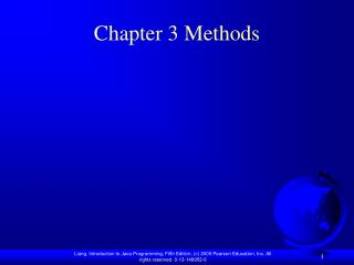 Chapter 3 Methods