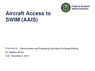 Aircraft Access to SWIM (AAtS)