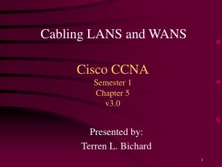 Cisco CCNA Semester 1 Chapter 5 v3.0