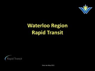 Waterloo Region Rapid Transit