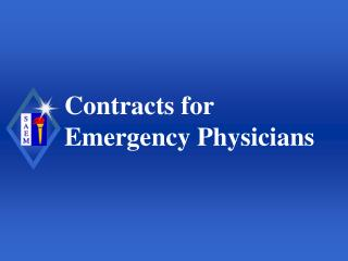 Contracts for Emergency Physicians