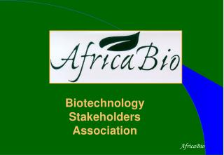 Biotechnology Stakeholders Association
