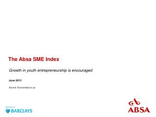 The Absa SME Index