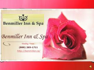 Benmiller Inn & Spa The Award Winning Restaurant In  Ontario