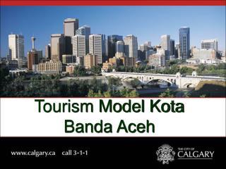 Tourism Model Kota Banda Aceh