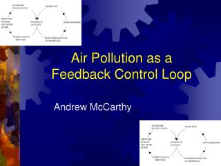 Air Pollution as a  Feedback Control Loop
