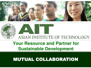 Your Resource and Partner for Sustainable Development