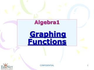 Algebra1 Graphing Functions
