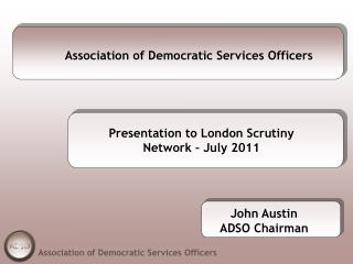 Association of Democratic Services Officers