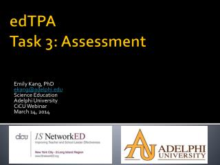 edTPA  Task 3: Assessment