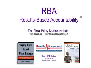 RBA Results-Based Accountability