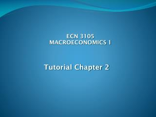 Tutorial Chapter 2