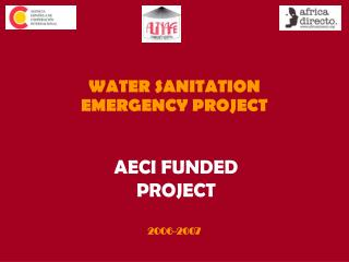 AECI FUNDED PROJECT