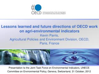 OECD AND ITS GLOBAL PARTNERS