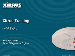 Xirrus Training