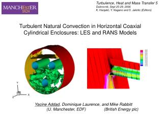 Turbulent Natural Convection in Horizontal Coaxial Cylindrical Enclosures: LES and RANS Models