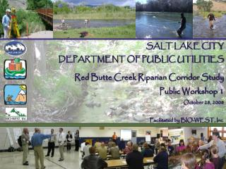 SALT LAKE CITY DEPARTMENT OF PUBLIC UTILITIES Red Butte Creek Riparian Corridor Study