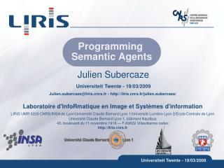 Programming  Semantic Agents