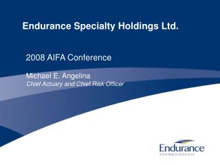 Endurance Specialty Holdings Ltd.