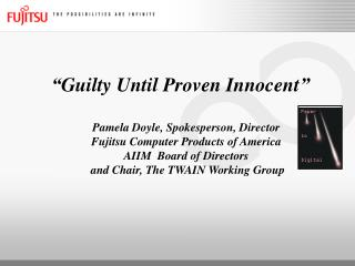 """Guilty Until Proven Innocent"""