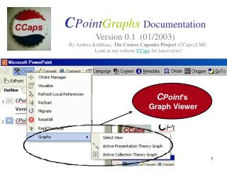 C Point Graphs Documentation Version 0.1  (01/2003)