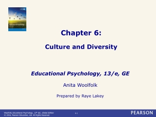 Chapter 6: Culture and Diversity