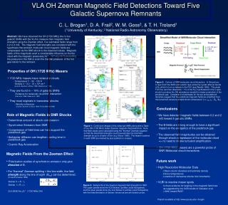 VLA OH Zeeman Magnetic Field Detections Toward Five Galactic Supernova Remnants