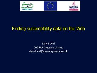 Finding sustainability data on the Web