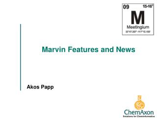 Marvin Features and News