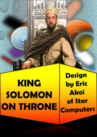KING SOLOMON ON THRONE