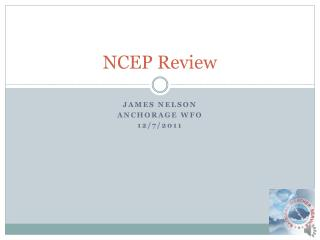 NCEP Review