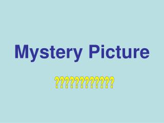 Mystery Picture