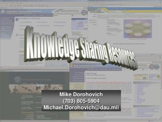 Knowledge Sharing Resources