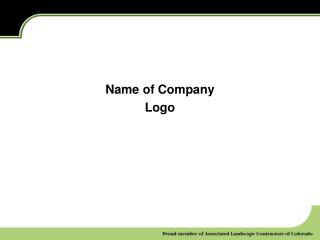 Name of Company Logo