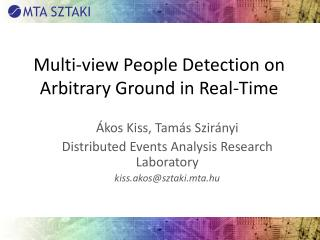 Multi-view People Detection on Arbitrary Ground in Real-Time